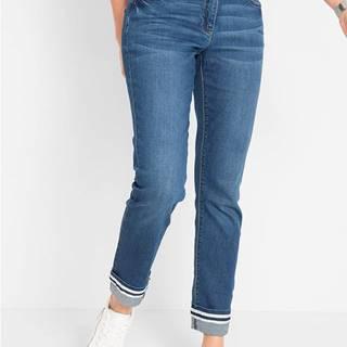 Strečové džínsy Straight