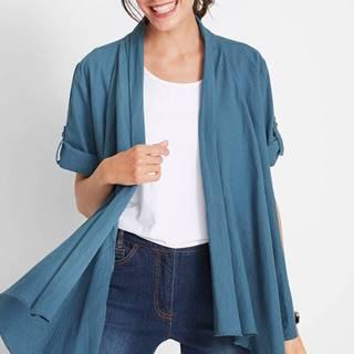 Blúzková bunda z plátenej zmesi