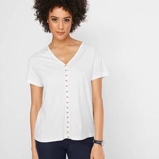 Tričko s gombičkovou légou, krátky rukáv