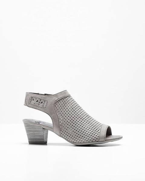 Hnedé sandále bonprix
