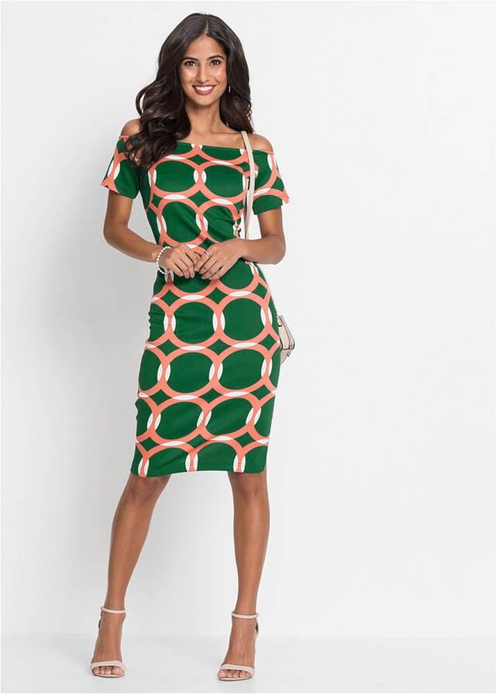 bonprix Šaty so vzorom