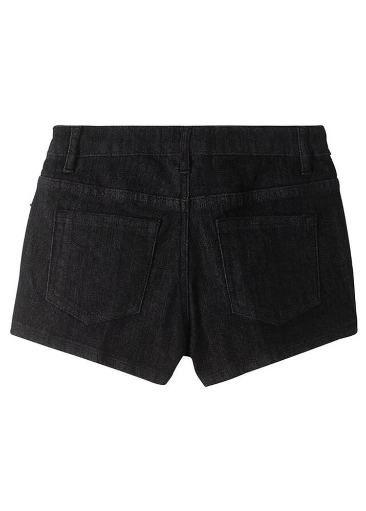 bonprix Džínsové šortky s ligotavými kamienkami