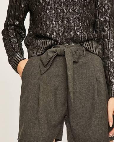 Sivé šortky Answear