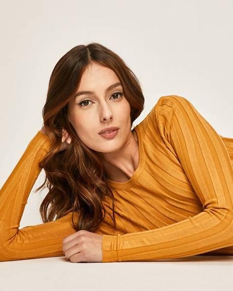 Žltý sveter Answear