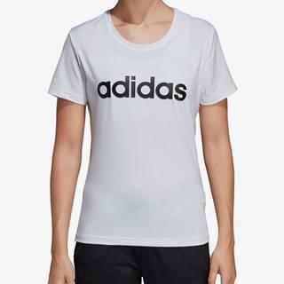 Tričko adidas Performance W D2M Lo Tee Biela