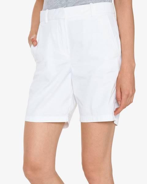 Biele šortky Lacoste