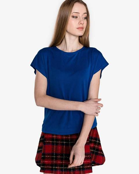 Modré tričko Vero Moda