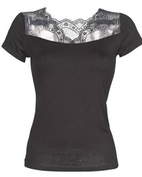 Čierne tričko Morgan