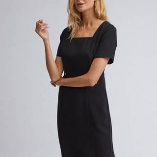 Čierne púzdrové šaty Dorothy Perkins