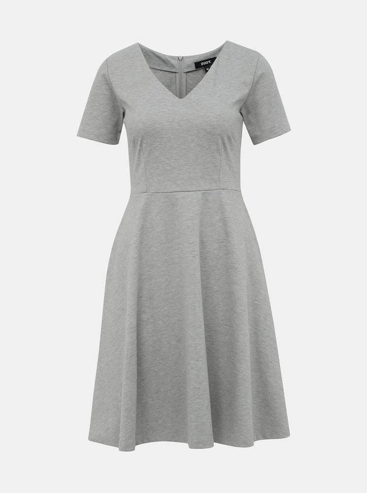 ZOOT Šedé basic šaty ZOOT Julia