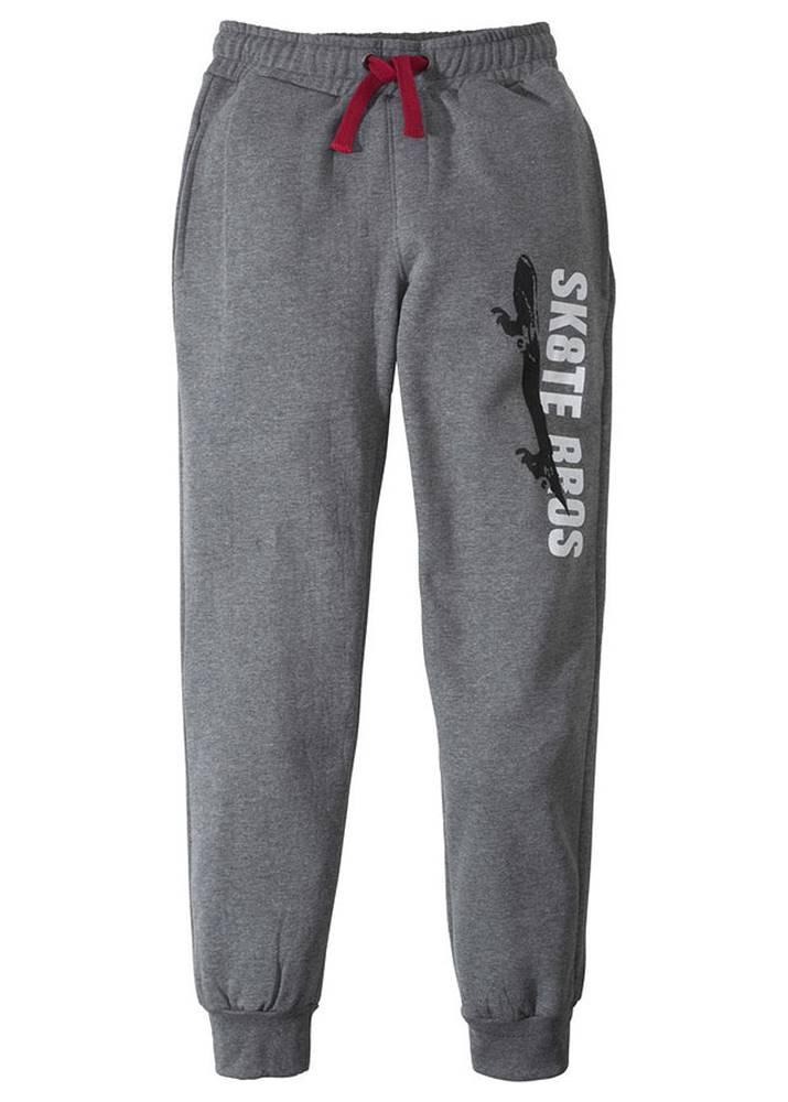 bonprix Teplákové nohavice s coolovou potlačou