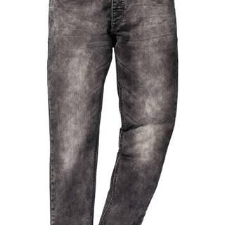 Teplákové džínsy Skinny Fit Straight