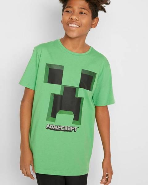 Zelené tričko bonprix