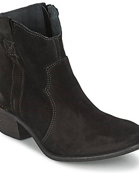 Čierne topánky Shoe Biz