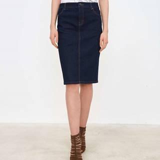 Dámska džínsová sukňa  modrá