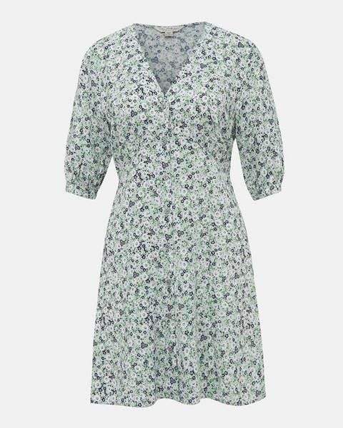 Svetlozelené šaty Miss Selfridge