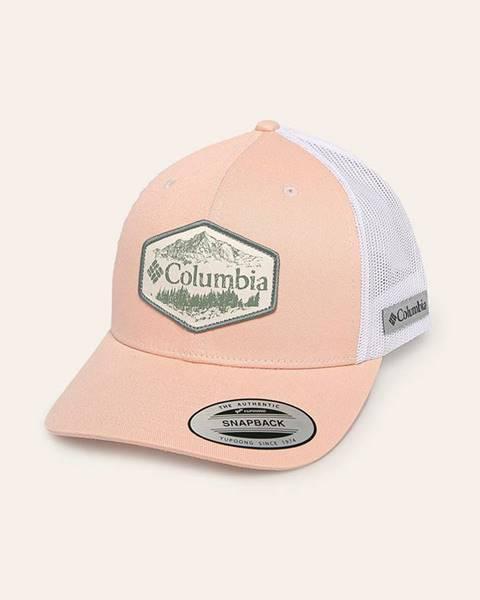 Biela čiapka Columbia