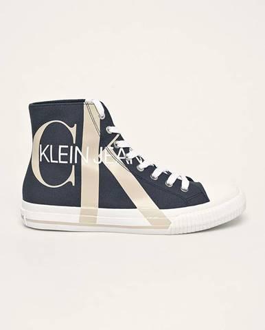 Tmavomodré tenisky Calvin Klein Jeans