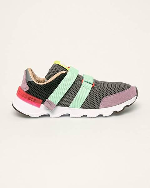 Sivé topánky Sorel