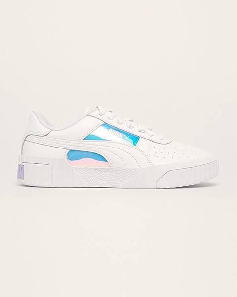 Biele topánky Puma