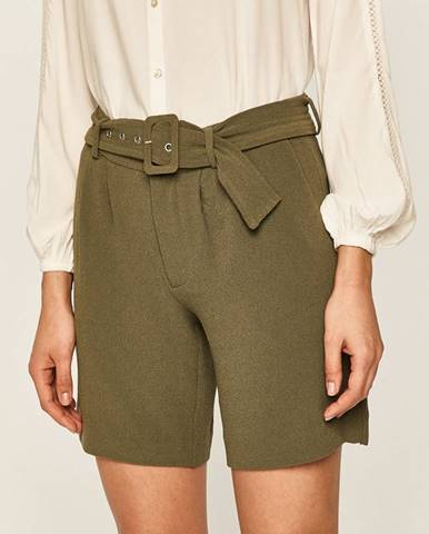Zelené šortky Vero Moda