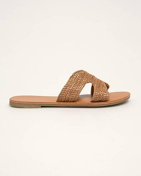 Hnedé sandále Haily's