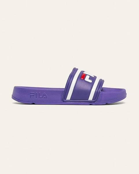 Fialové sandále Fila
