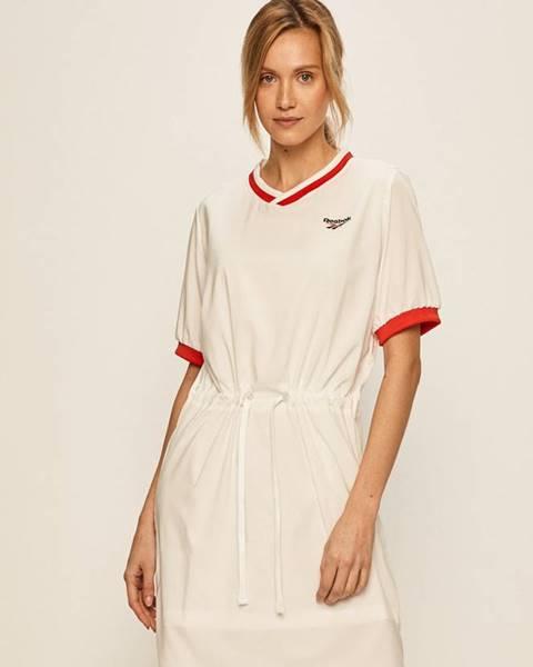 Biele šaty Reebok Classic
