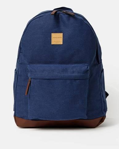 Tmavomodrý batoh Jack & Jones