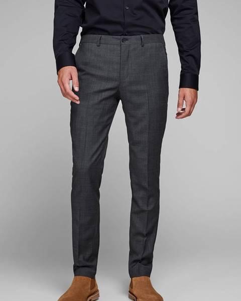 Sivý oblek Jack & Jones
