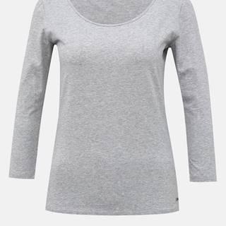Svetlošedé dámske basic tričko ZOOT Baseline Theresa