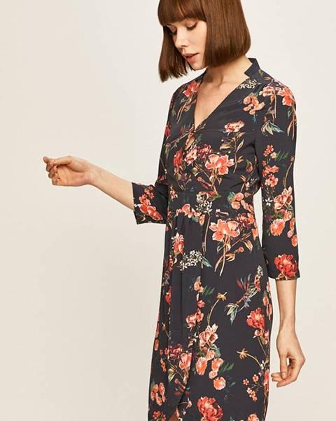 Tmavomodré šaty Morgan