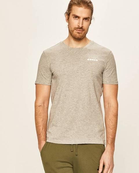 Sivé tričko Diadora