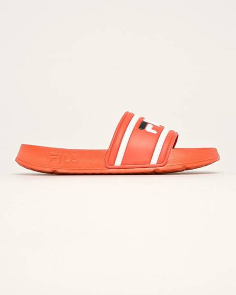 Oranžové sandále Fila