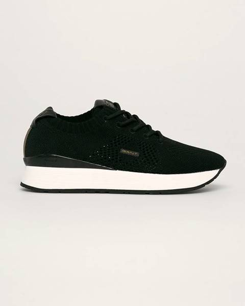Čierne topánky Gant