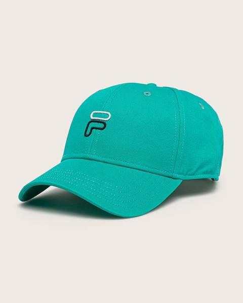 Zelená čiapka Fila