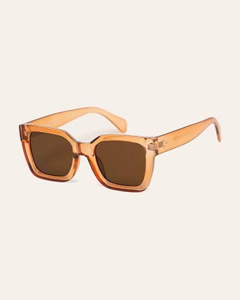 Oranžové okuliare Pieces