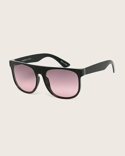 Čierne okuliare Pieces