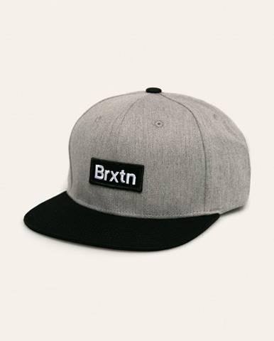 Sivá čiapka Brixton