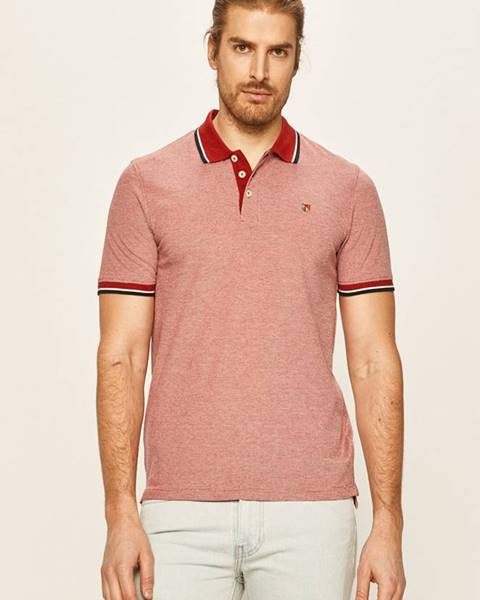 Červené tričko Premium by Jack&Jones
