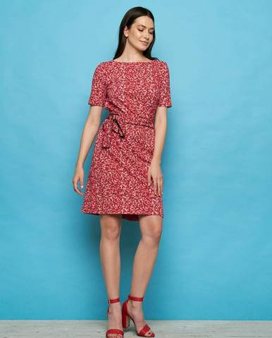 Červené šaty Tranquillo