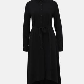 Čierne košeľové šaty ZOOT Colly