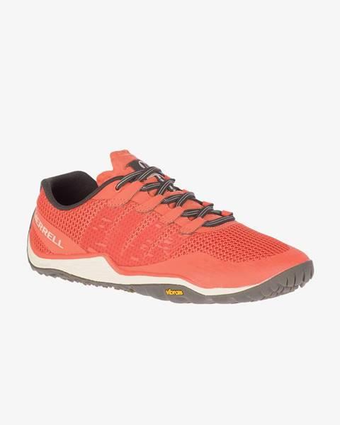 Oranžové topánky Merrell