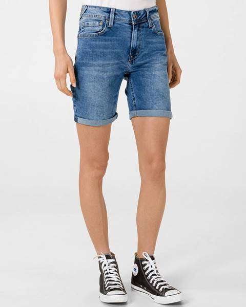 Modré šortky Pepe jeans