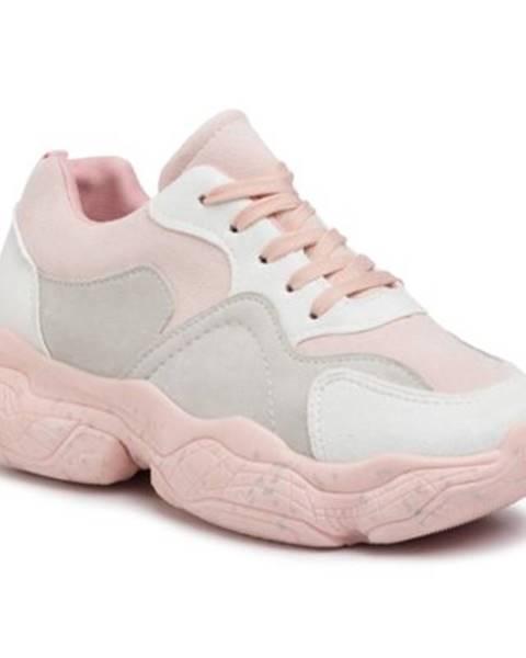 Ružové poltopánky