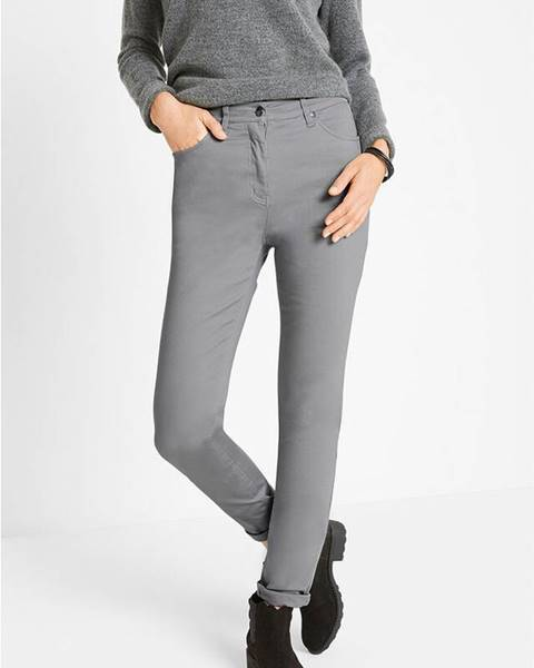 Sivé nohavice bonprix