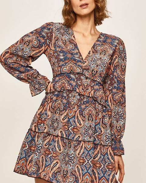Viacfarebné šaty Answear