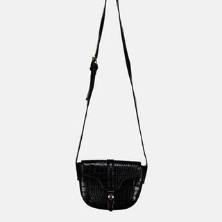 Haily´s Čierna crossbody kabelka s krokodýlím vzorom Haily´s Elisa