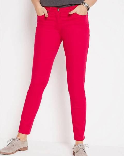 Červené nohavice bonprix