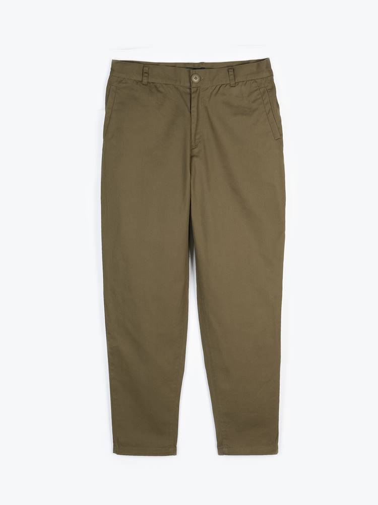 GATE Základné bavlnené nohavice chino